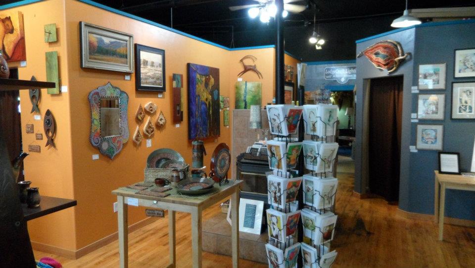 Silver FIsh Gallery Eureka MT