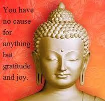 Gratitude and joy