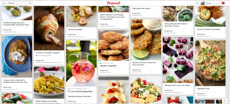 Pinterest Food Love