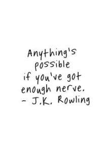 Got nerve?